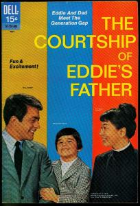 The Courtship of Eddie's Father #2 1970- Dell Comics- Photo cover FN+