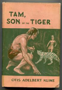 Tam, Son Of The Tiger by Otis Adelbert Kline 1962 Avalong hardback