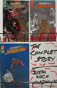 IMAGES OF SHADOWHAWK (1993 IMAGE) 1-3 WITH TRENCHER!!!!