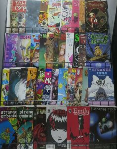 GOTH/HORROR/SPOOKIE INDIE COMIC MEGA-LOT! 37 BOOKS! Vampires and other joys!