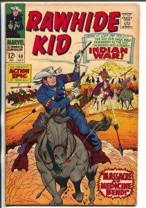 Rawhide Kid #60 1967-Marvel-Indian War-Dick Ayers-Al Kurzrok-VF