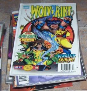 Wolverine #110 (Feb 1997, Marvel) shaman alpha flight elektra stick