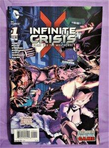 Dan Abnett INFINITE CRISIS Fight for the Multiverse #1 Larry Stroman (DC, 2014)!