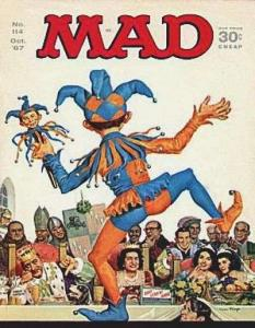 Mad (1952 series) #114, Fine+ (Stock photo)