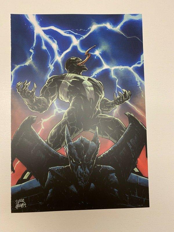 Venom #1 Marvel Comics poster by Ryan Stegman