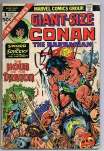 Giant Size Conan the Barbarian #1 ORIGINAL Vintage 1975 Marvel Comics