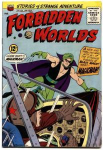 FORBIDDEN WORLDS #125- FIRST APPEARANCE MAGICMAN ORIGIN