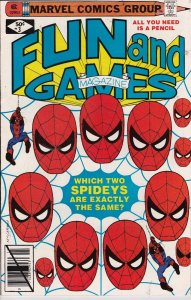 From Marvel Comics Group! Fun and Games Magazine! Issue 3!