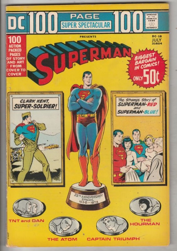 DC 100-Page Super Spectacular #18 (Jul-73) VF/NM High-Grade Superman, Jimmy O...