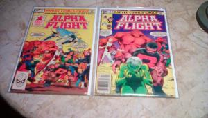 Alpha Flight #1- #2. John Byrne! (1983-Year) FREE EXPEDITED SHIPPING in GD-/GD