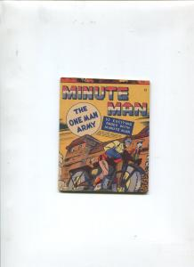MINUTE MAN #12 1942-MIGHTY MIDGET COMICS-FAWCETT-VF+