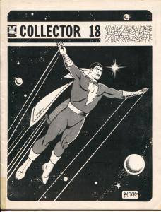 Collector #18 1970-Bill Wilson-Bill Blacke Capt Marvel cover-Alan Light-VG
