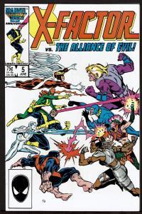 X-Factor #5 (Jun 1986, Marvel) 9.4 NM