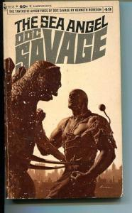 DOC SAVAGE-THE SEA ANGEL-#49-ROBESON-G-JAMES BAMA COVER-1ST EDITION G