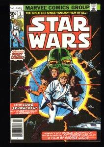 Star Wars #1 VF 8.0 30 Cent Reprint Variant