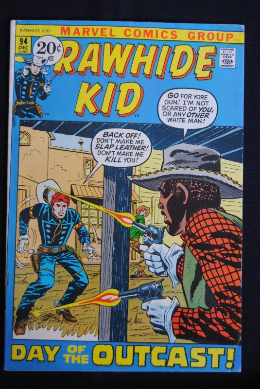 Rawhide Kid #94, 7.0