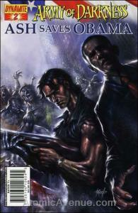 Army of Darkness: Ash Saves Obama #2B VF/NM; Dynamite   save on shipping - detai