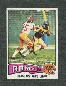 1975 Topps Football /  Lawrence McCutheon #360 /  NM-MT+