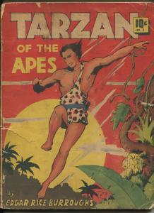 TARZAN OF THE APES #5 1939-DELL-P/FR