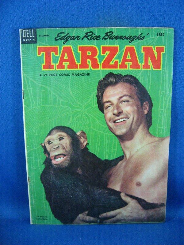 TARZAN 51 VG 1953 DELL