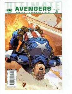 Ultimate Avengers #2 2nd Print Variant Marvel Comics RARE HTF Millar Pacheco