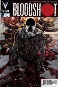 Bloodshot (2015 series) #24, NM + (Stock photo)
