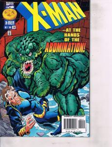 Lot Of 5 X-Man Marvel Comic Book #20 21 22 23 24  Iron Man  AH8