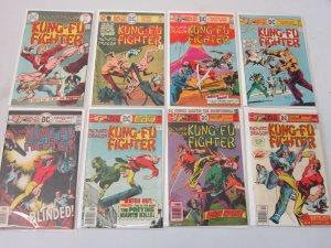 Richard Dragon Kung-Fu Fighter #2-17 13 Diff Books Missing #1,4,5,15,18 AVG 5.0