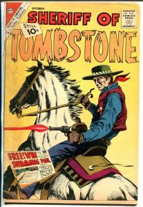 Sheriff of Tombstone #17 1961-Charlton-western thrills-VG