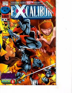 Lot Of 2 Marvel Comic Books Excalibur #100 and #104 Ironman ON3
