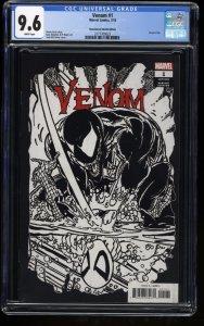 Venom (2018) #1 CGC NM+ 9.6 McFarlane Sketch Variant!