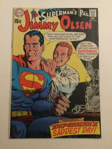 Superman's Pal Jimmy Olsen 125 Vg+very Good+ 4.5 Bottom Staple Detached Dc