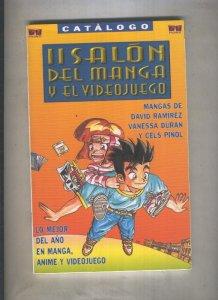 Catalogo II Salon del Manga y el videojuego 1996