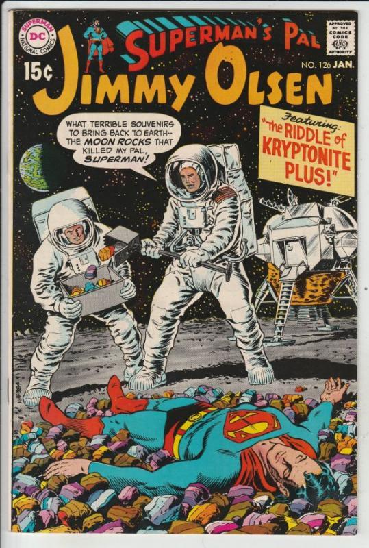 Jimmy Olsen, Superman's Pal  #126 (Jan-70) NM Super-High-Grade Jimmy Olsen