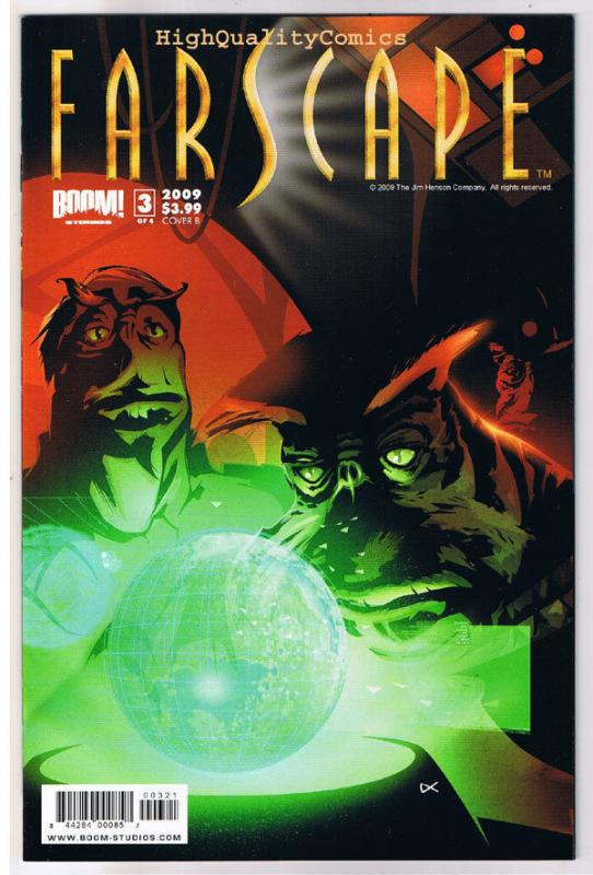 FARSCAPE #3  B, NM+, John Crichton, Aeryn Sun, Sci-Fi, 2008, more in store