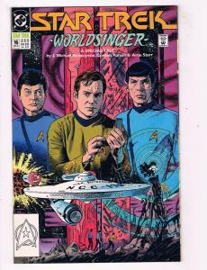 Star Trek #16DC Comic Book WorldSinger J. Michael Strazcynski Spock Kirk HH1