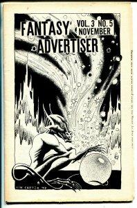 Fantasy Advertiser 11/1949-Lin Carter-Clark Ashton Smith-pulp & sci-fi info-FN