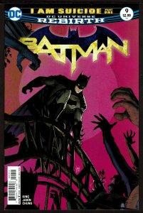 Batman #9 Rebirth (Dec 2016, DC) 0 9.4 NM