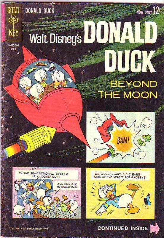 Donald Duck #87 (Apr-63) VG/FN Mid-Grade Donald Duck