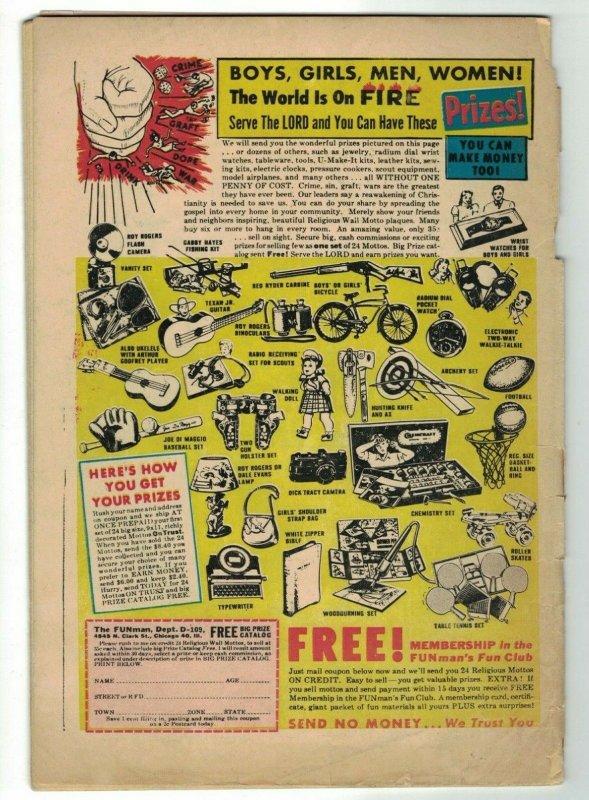 Space Adventures #11 FAIR; Charlton | science fiction - June 1954 golden age
