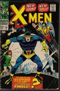 X-men #39 (Marvel, 1967) VG/FN