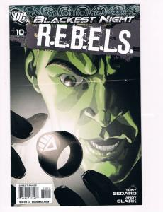 R.E.B.E.L.S. # 10 DC Comic Books Hi-Res Scans Awesome Issue Modern Age WOW!! S10