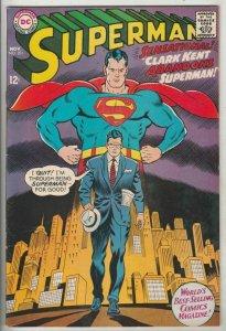 Superman # 201 Strict NM- High-Grade Bottle City Of Kandor, Jimmy Olsen Wow