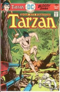 TARZAN 244 VG-F Dec. 1975 COMICS BOOK