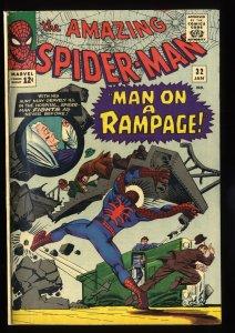 Amazing Spider-Man #32 VG 4.0 Marvel Comics Spiderman