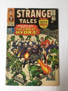 Strange Tales 140 1.8 Gd- Good- Small Poece From Cover Missing
