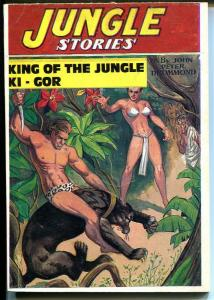 Jungle Stories 1970's-Hanos-reprint of Summer 1948 issue-new cover-pulp-FN
