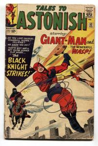 TALES TO ASTONISH #52-1964-GIANT-MAN-KIRBY-SILVER AGE-MARVEL VG-