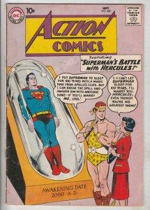 Action Comics #268 (Oct-60) FN- Mid-Grade Superman, Supergirl
