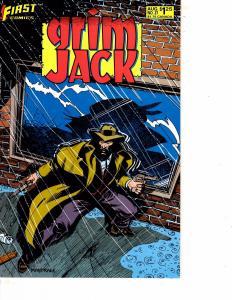Lot Of 5 GrimJack First Books #36 37 38 39 40 Superman Batman WT10